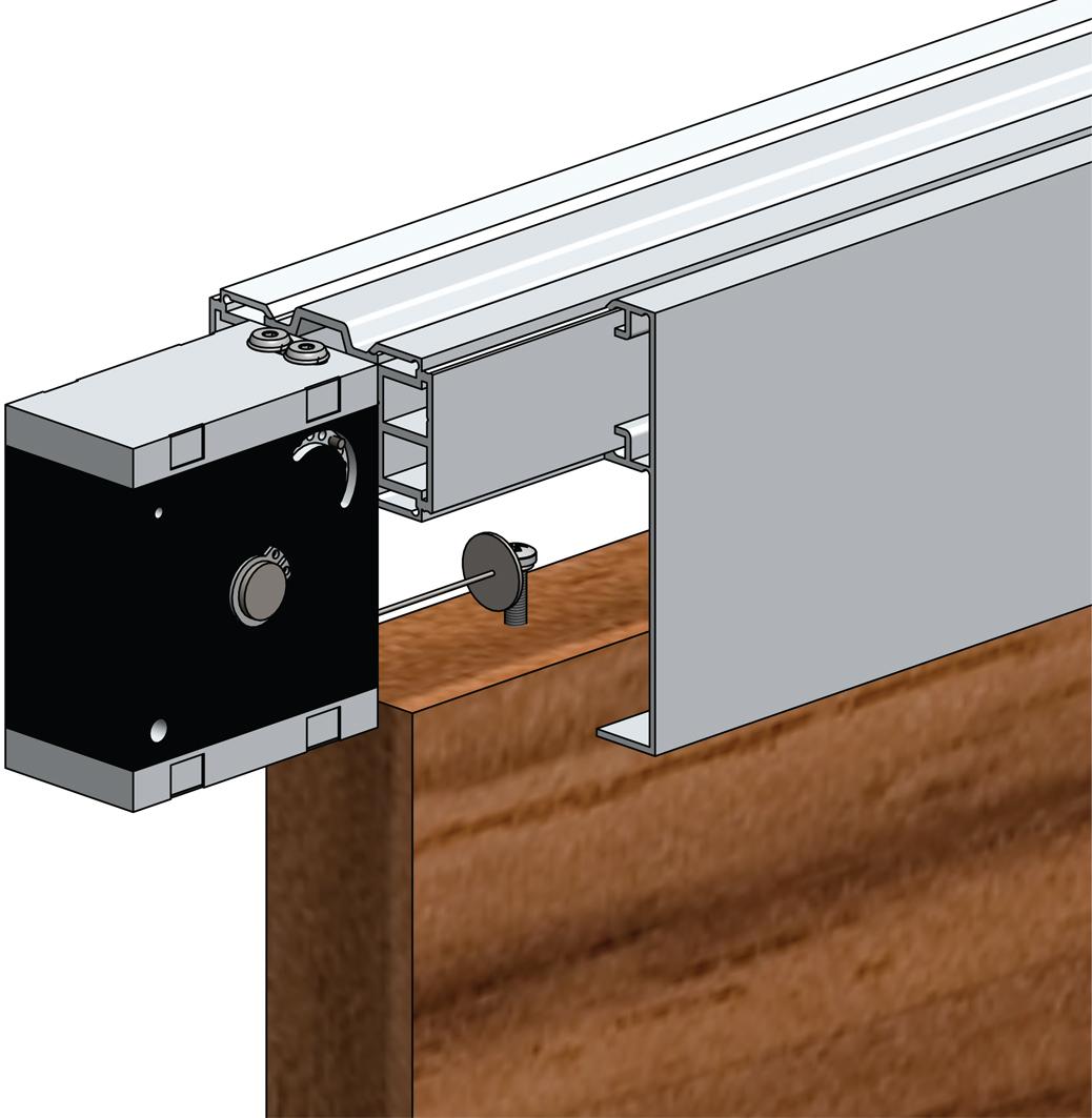 helm t rschliesser f r schiebet ren smartclose art 007353. Black Bedroom Furniture Sets. Home Design Ideas