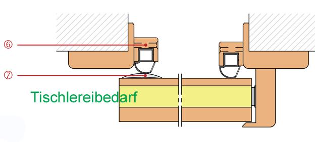 Athmer schiebet rdichtung rundumdicht vhh 2000 x 958 mm for Athmer rundumdicht
