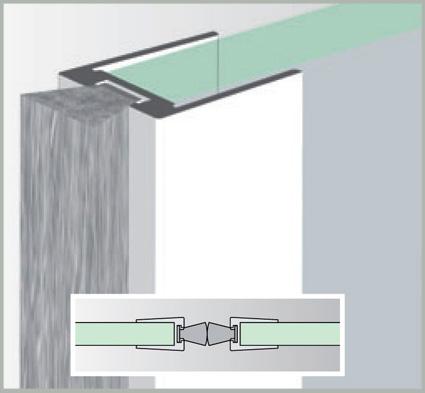 b rstendichtung ub 10 10 glasdichtung f r 10 mm glasst rke glast rdichtung 1 m ebay. Black Bedroom Furniture Sets. Home Design Ideas