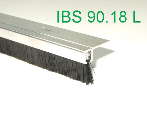 b rstendichtung l 1m aluwinkel profil pp b rste torb rste ebay. Black Bedroom Furniture Sets. Home Design Ideas