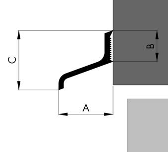 wasserschenkel ws25 100 cm ald a125 alu ungebohrt wassernase wetterschenkel ebay. Black Bedroom Furniture Sets. Home Design Ideas