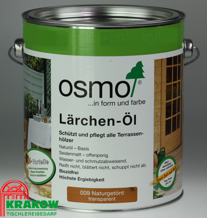 osmo terrassen l l rchen l 009 naturget nt 3 liter sondergebinde ebay. Black Bedroom Furniture Sets. Home Design Ideas