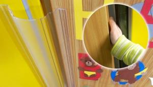 Fingerschutzprofil Klemmschutz Fingerschutz Finger Alert 110/° Set 180cm transp