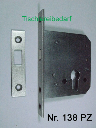 BEVER Schiebet/ürschloss Nr 138 PZ mit Zirkelriegel = Zirkelriegelschlo/ß