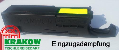 Mantion Schiebetürbeschlag SAF  80 D-240 cm mit kl Einzugsdämpfung Sanftstop